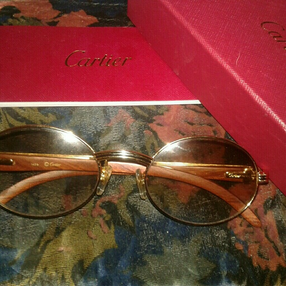 b472a71fb56 Cartier Other - Rare Vintage Cartier Sunglasses Gold Frames Paris
